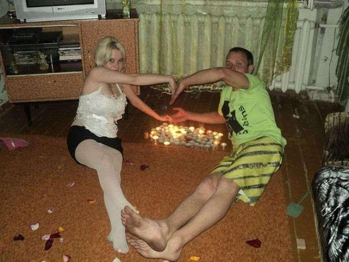 Люди, которые изо всех сил стараются быть романтичными