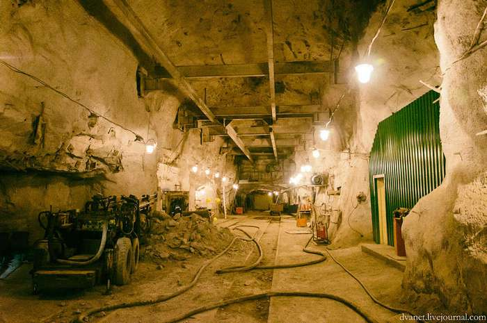 Кировский рудник. Взгляд изнутри