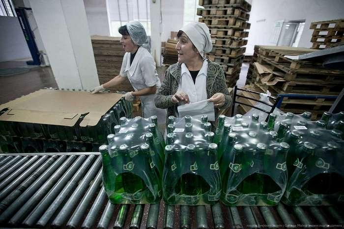 Как производят минеральную воду в Дагестане