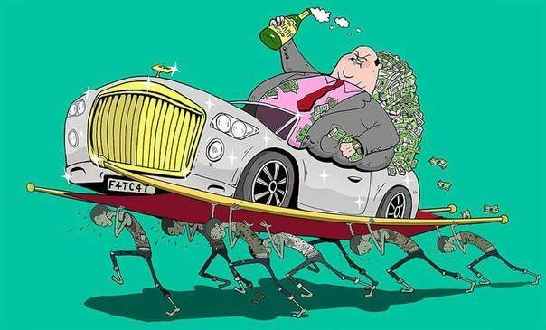 Правда о современном мире в иллюстрациях Стива Каттса