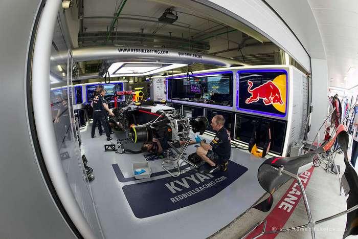 Чемпионат Формулы 1: как устроен питлейн.