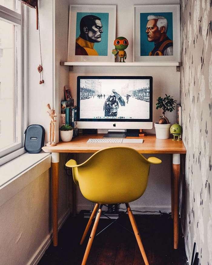 20 вдохновляющих рабочих мест, за которыми действительно приятно работать