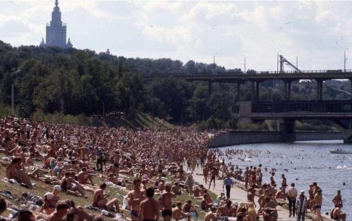 Москва 1975 года