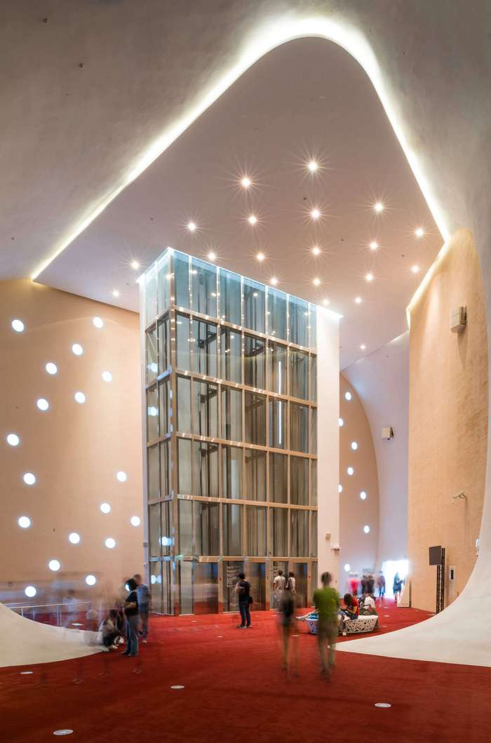 Органические формы в архитектуре оперного театра на Тайване