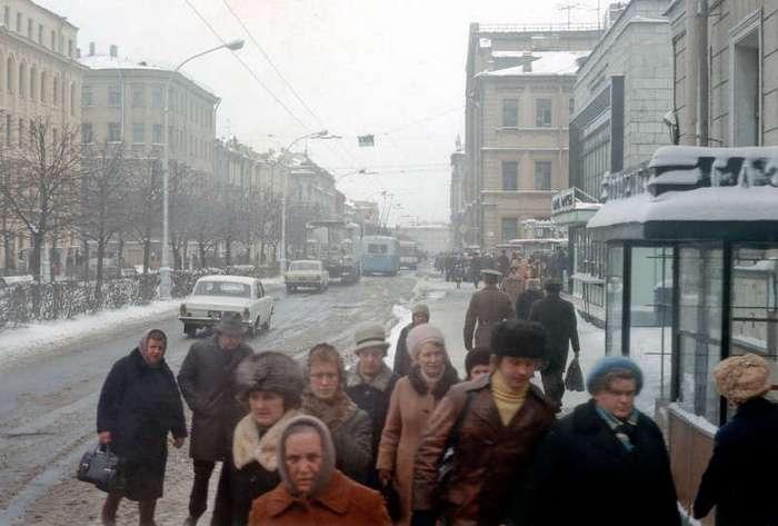 1976 год в цвете. Жизнь в СССР 40 лет назад