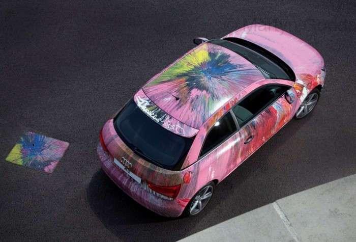 Автомобильная живопись от известнейших современных художников