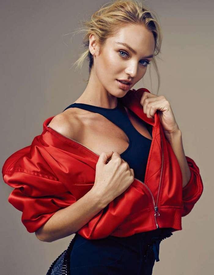 Кэндис Свейнпол снялась для журнала Elle, Китай