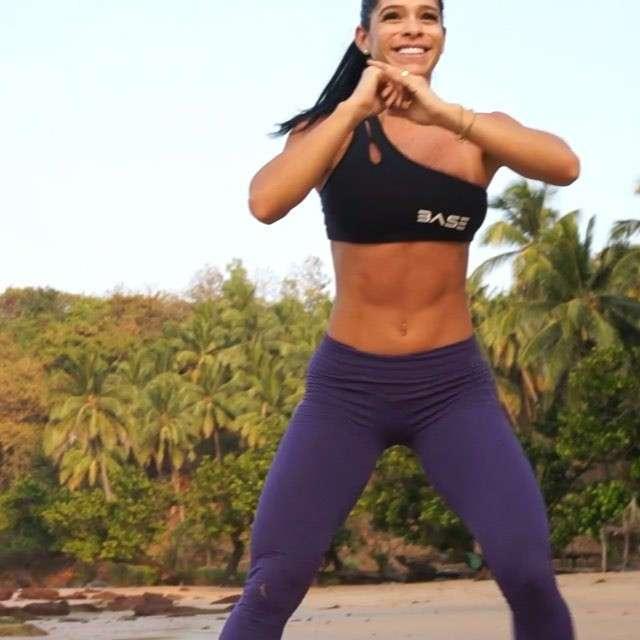 Мишель Левин - горячая фитнес-модель