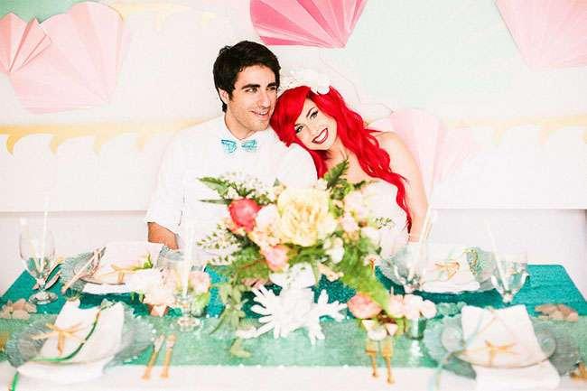 Как выглядела бы свадьба русалочки Ариэль в реальной жизни