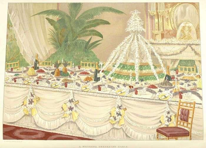 Самые изысканные блюда викторианской эпохи: молочные поросята и петухи в костюмах