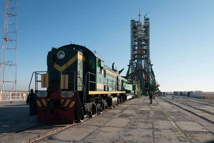 Старт российского космического корабля «Союз МС-03»