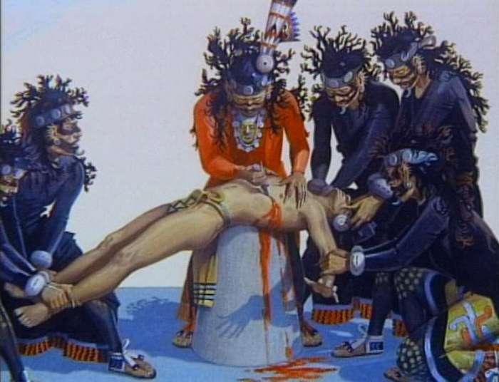 10 ужасающих фактов об ацтекских воинах
