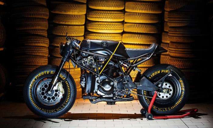 Кастом Ducati 750 SS Kraken от Iron Pirate Garage