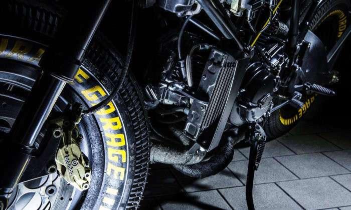 Кастом Ducati 750 SS Kraken от Iron Pirate Garage