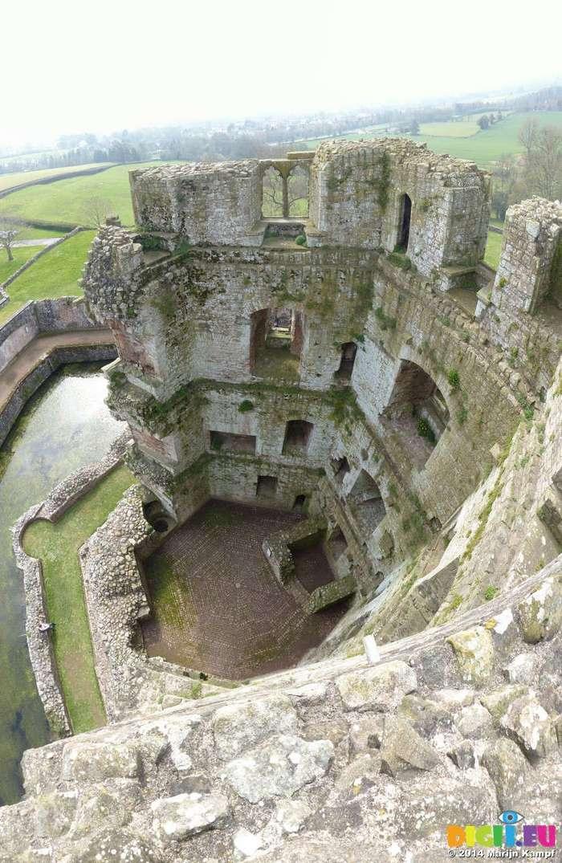 Замки Англии: Раглан (Raglan Castle)