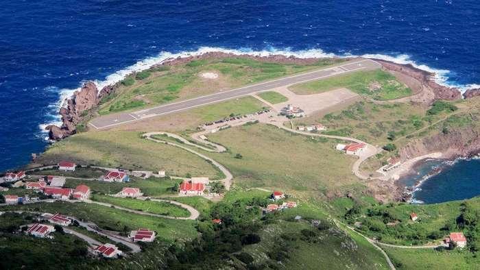 Самая короткая взлетная полоса аэропорта в мире