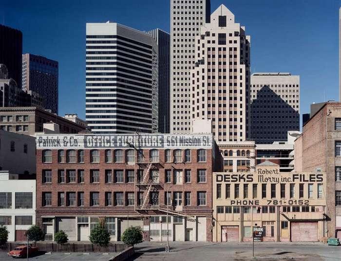 Уличные снимки Сан-Франциско в 80-е годы