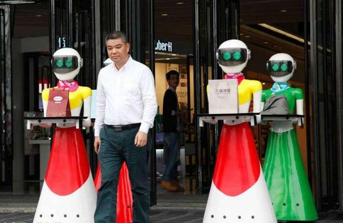 Шопинг с роботами