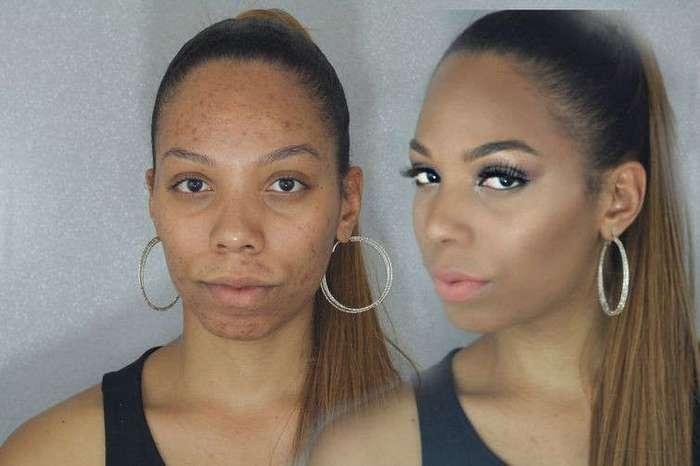 Девушки, умело маскирующие свою проблемную кожу при помощи макияжа