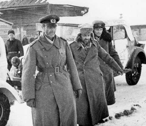 Фельдмаршал Паулюс: жизнь в советском плену.