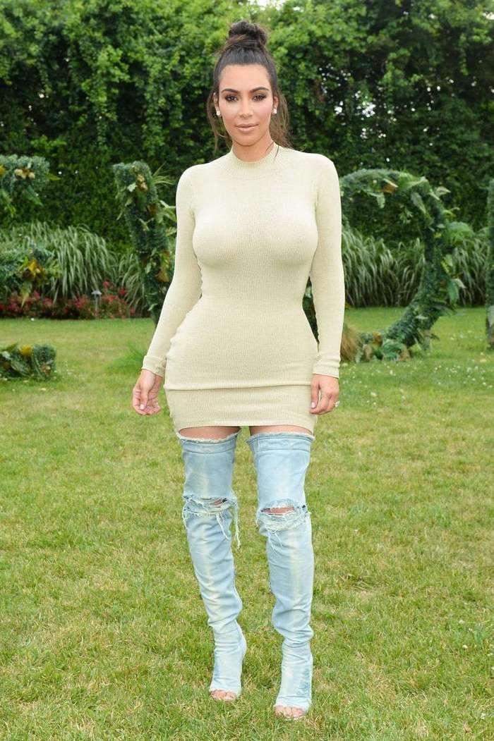 Тусит и зарабатывает: Ким Кардашьян получила 700 тысяч долларов за визит на вечеринку