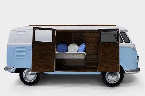 Спальный вагончик для детей Bun Van