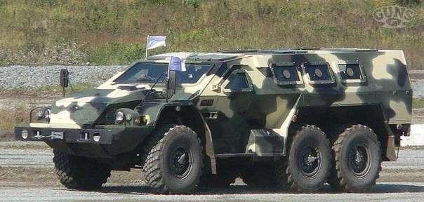 Бронеавтомобиль Булат СБА-60-К2 KAMA3