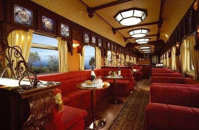 Самые роскошные поезда, курсирующие по земному шару
