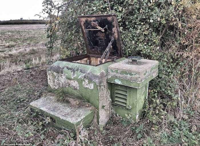 В Англии найден заброшенный бункер со всеми припасами для спасения от ядерной войны