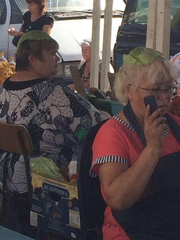 Они просто пришли на ярмарку за картошечкой, но что-то пошло не так
