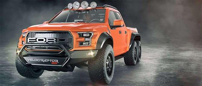 Ford + Hennessey Velociraptor — шесть колес и 650 лошадиных сил