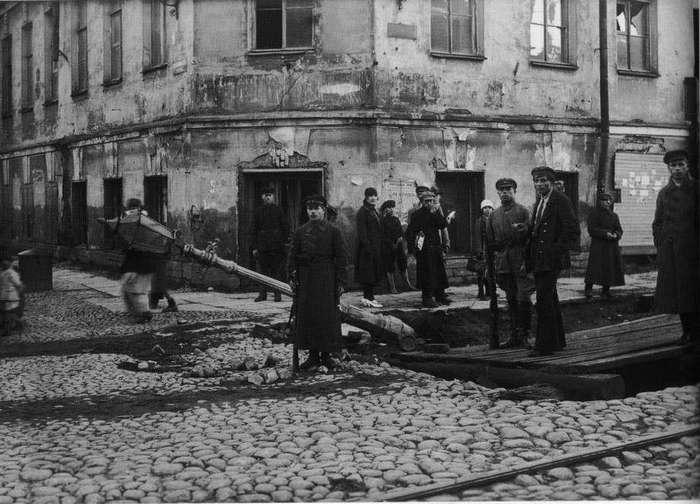 Последствия жуткого наводнения в Ленинграде 23 сентября 1924 года