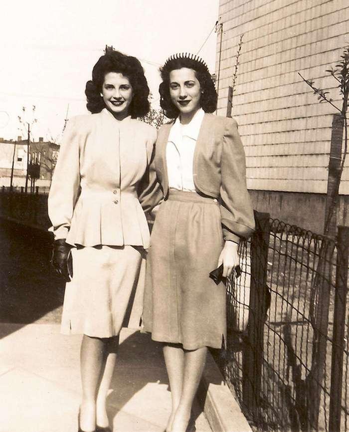Как выглядели и одевались девушки 40-х