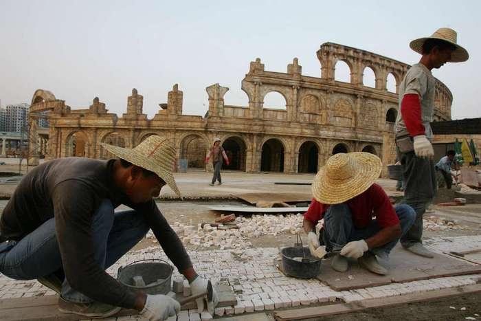 Копии мировых достопримечательностей в Китае