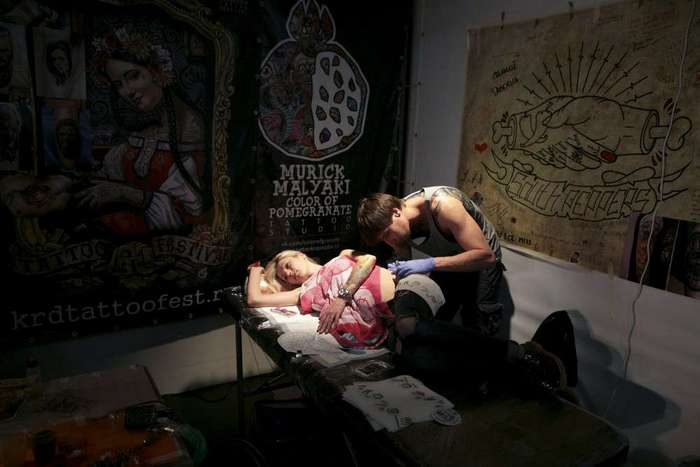Фестивали татуировки в Шанхае и Сочи