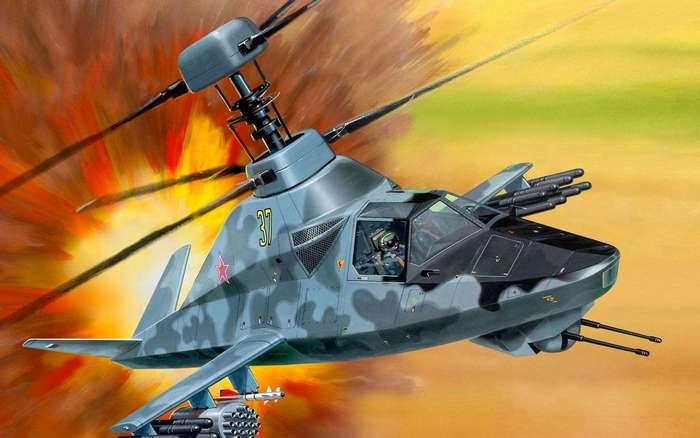 Вертолет Ка-58 : миф или перспективная разработка?