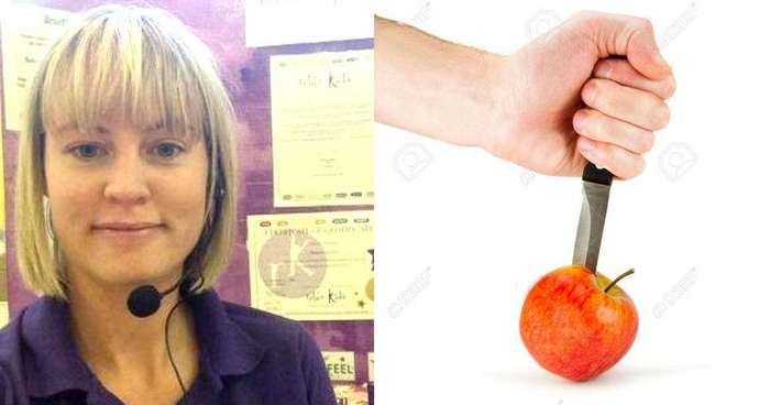 Учительница показала на яблоках, как действуют на детей издевательства