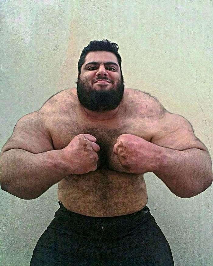 Саджад Гариби — иранский Халк, весящий более 150 кг