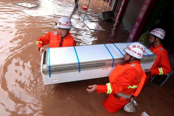 Наводнения в Китае