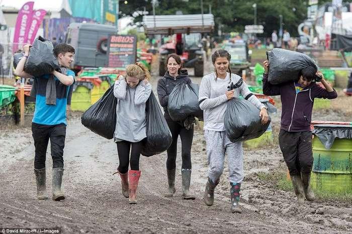 Главное музыкальное событие года Великобритании будет проходить в болоте