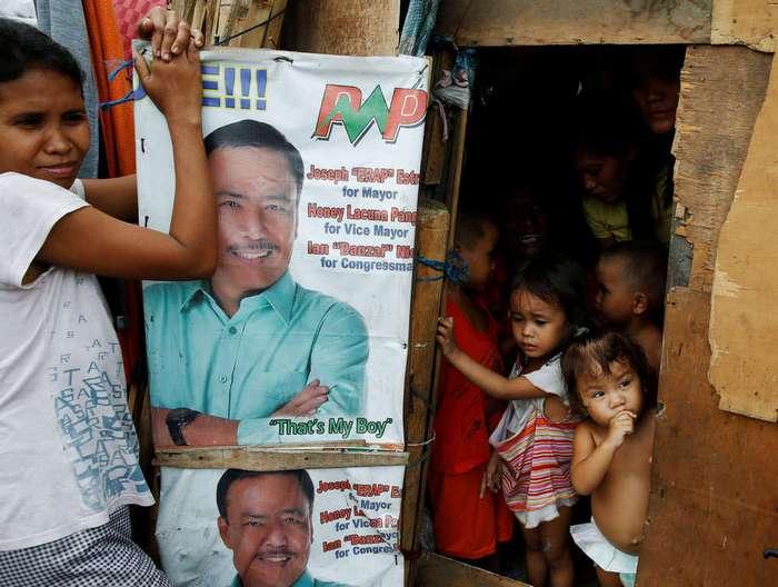 Кадры повседневной жизни на Филиппинах