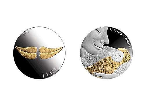 Красивые и необычные монеты мира