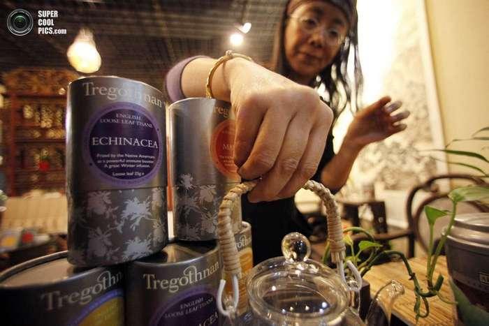 Английский чай, экспортируемый в Индию и Китай