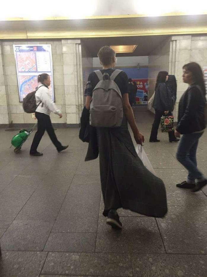 Модные люди в метро: осторожно, здесь может быть ваша фотография!