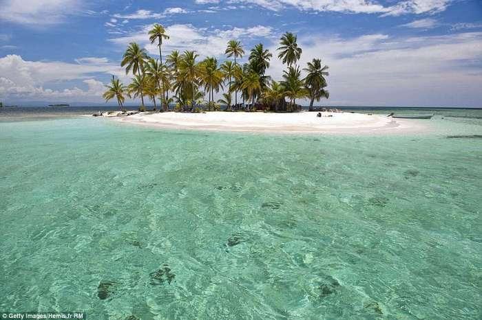 Диковинные места с самой прозрачной в мире водой