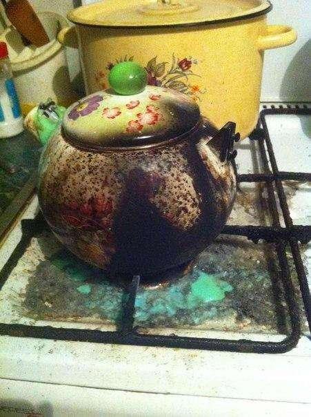 Поставил и забыл: о том, что творится на кухне у забывчивых людей
