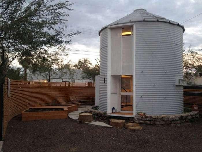 Архитектор Кристоф Кайзер превратил старое зернохранилище в уютный дом