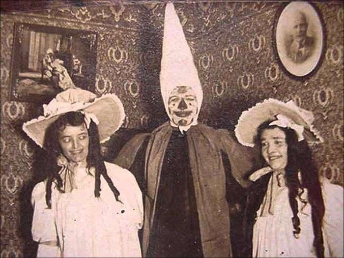 Если верить этим фотографиям, в прошлом было жуть как страшно