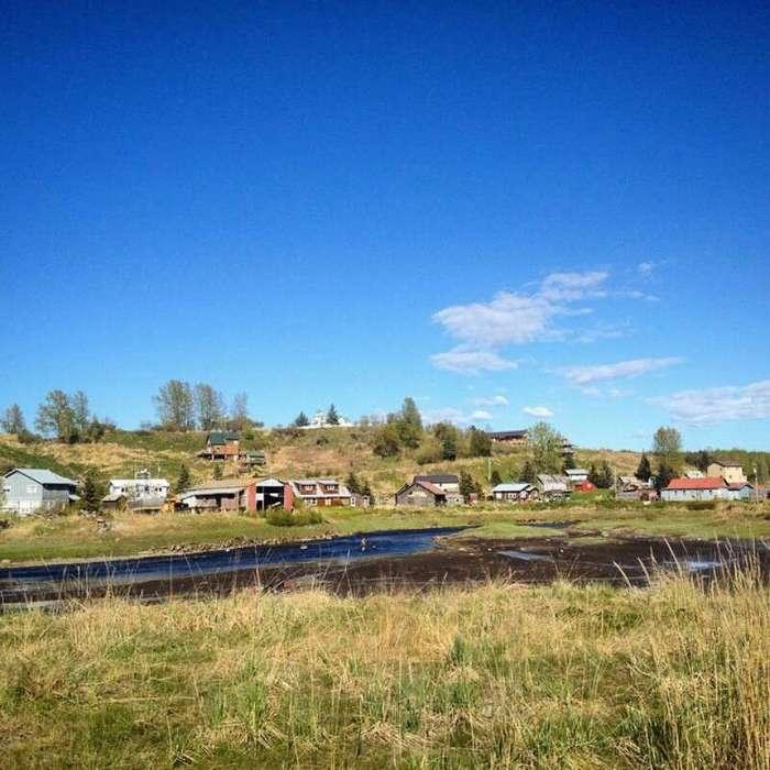 Нинильчик - русская деревня на Аляске