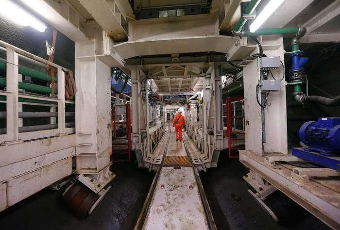 Как строят тоннели Crossrail в Великобритании